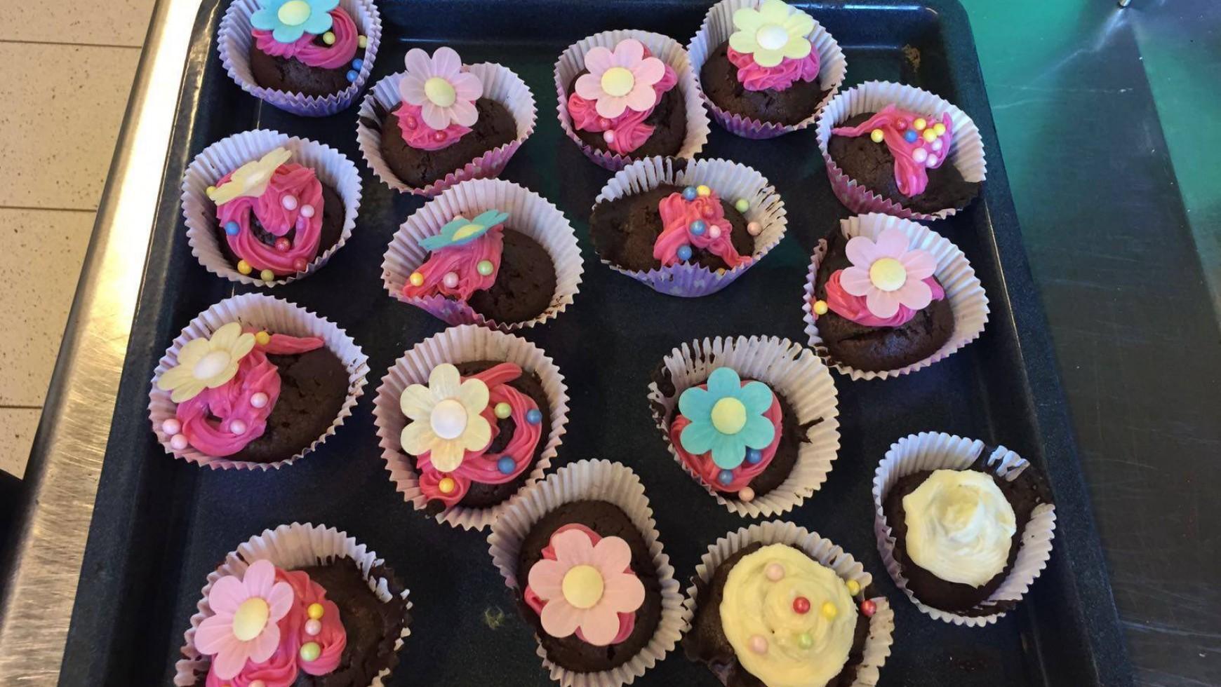 Cupcakes uitdelen in Nij Smellinghe // Reach & Impact