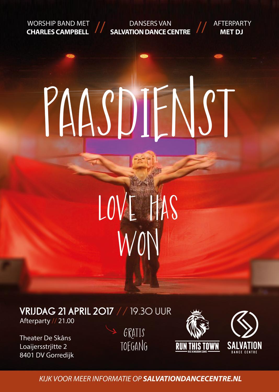 Pasen in theater 'de Skâns'